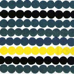 【楽天市場】マリメッコ 可愛い 4つ折りペーパーナプキン☆RASYMATTO yellow☆(20枚入り):Pippy 楽天市場店