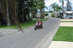 BIG4 Karuah Jetty caravan park pedal go karts for hire