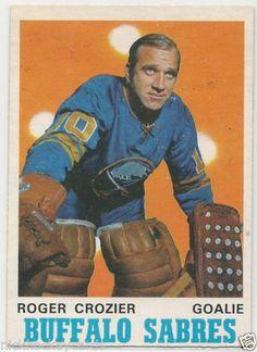 1970-71 O-Pee-Chee # 145 Roger Crozier Buffalo Sabres NM