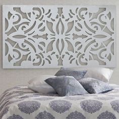 coole Ideen für Kopfteile weiß dekoration