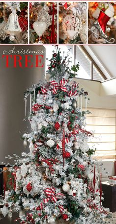 How to create a stunning Christmas Tree. Melrose International.