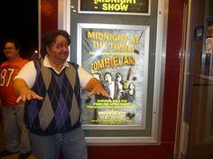 Midnight show of Zombieland at the Tivoli Theatre