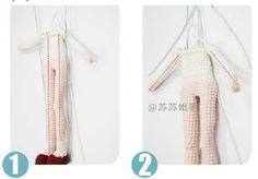 Leithygurumi: Narin Bebek - Türkçe - Ücretsiz - Amigurumi Doll - Free Pattern Doll Patterns Free, Free Pattern, Amigurumi Doll, Crochet Dolls, Doll Clothes, Blog, Crochet Symbols, Sewing Stitches, Pattern Books
