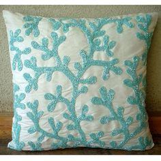 Ocean Coastal Decor Throw Pillow Cover Case Beach Couch Sofa Chair Bedroom Bench