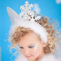 Snowflake Fairy Child Tiara-as shown-One Size #Glimpse_by_TheFind