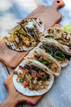 grilled tacos: perfect for Summer