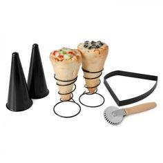 Make Your Own Pizza Cones | OhGizmo!
