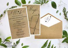 Rustic Wedding Invitation Discount Wedding Invitations, Rustic Invitations, Rsvp, Rustic Wedding, Place Card Holders