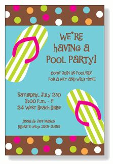 The best way to cool off during hot summer month is at the beach or the pool! Invite friends and family to enjoy the weather with these summer party invites. Girl Birthday, Birthday Parties, Birthday Ideas, Pool Party Activities, Pool Party Invitations, Invites, Fairy Tea Parties, Wet And Wild, Beach Party