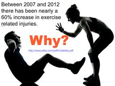 #fitnessinjuries #fitnesscertifications