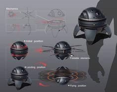 Modern Combat 5 Blackout by Andrian Luchian on ArtStation. Robot Concept Art, Weapon Concept Art, Robot Militar, Surveillance Drones, Arte Robot, Offroader, Futuristic Armour, Future Weapons, Futuristic Technology