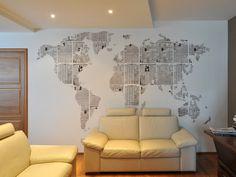 Dit is originele muurdecoratie