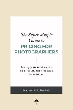 Confused about what you should be charging for your photography sessions? Pricing your photography services can be difficult. This comprehensive post covers pricing mindset, how to set prices, and more for your creative small bu Wedding Photography Pricing, Vintage Wedding Photography, Photography Services, Photography Business, Photography Ideas, Real Estate Photography Pricing, Photography Career, Editorial Photography, Photography Website Builder