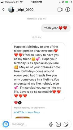 Real Friendship Quotes, Bff Quotes, Funny Quotes, Happy Birthday Best Friend Quotes, Cute Texts For Him, Birthday Captions Instagram, Instagram Quotes, Birthday Message, Paragraph