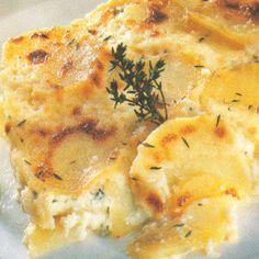 Légèreté & Gourmandises: Gratin dauphinois (4 PP)