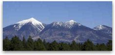 I miss waking up to the San Fransisco Peaks in Flagstaff, AZ