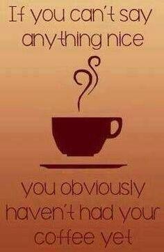 Café para começar o dia!