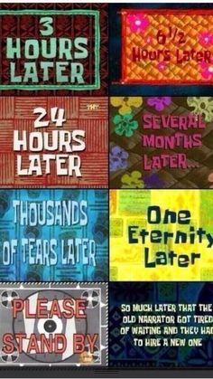 1000 Images About Time Cards On Pinterest Spongebob