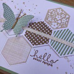 Bij Margriet Creatief; o.a. verkoop van Stampin' Up!: Six-Sided Sampler + Simply Created Card Kit Happenings