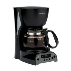 Best Kitchen Cart | Black Coffee 4cup Programmable Coffee Maker by AytraHome ** More info could be found at the image url. Note:It is Affiliate Link to Amazon.
