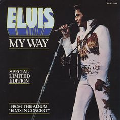 My Way by Elvis. Rap Pictures, Holding Court, Elvis In Concert, Wrong Time, King Of Music, Graceland, My Way, Elvis Presley, Picture Show