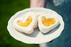 my meringues with lemon curd. photography by @Ashley Batz