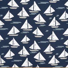 Cape May 2 yard Minimum PREMIER PRINT  Indigo  Blue by sendpillows