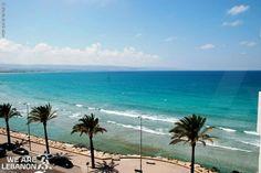 Enjoy the beach view from sour شو رأيكن بمنظر شط صور