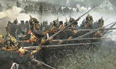 Detail of 14th Prussian Infantry Brigade (IR27 and IR67) In action, Königgrätz 1866