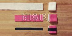 Felt Sushi DIY — Chalkboard & Canvas