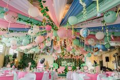 Girly Tropical Safari Birthday Party Ideas | Photo 1 of 24 | Catch My Party