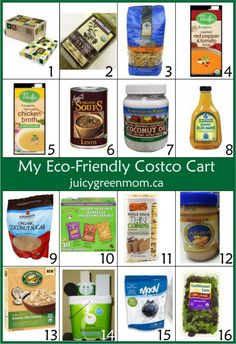 How do you shop for eco-friendly, organic & gluten-free products at Costco? Here's what I get!