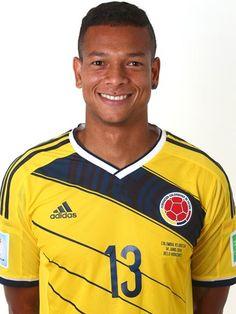 Las fotos oficiales de #Colombia #Fifa #Brasil2014 - Freddy Guarin