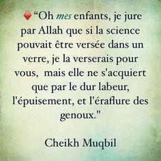Sheikh Moqbil - oh mes enfants, je jure par Allah... (do#)