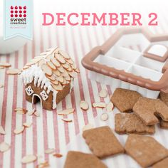 Free Sweet Creations By GoodCook 3D Gingerbread House Cookie Cutters - 12 Days of the Holidays Giveaway! #Goodcook #SweetCreationsByGoodCook