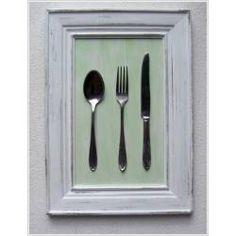 cuadros shabbychic para decorar cocina o comedor en