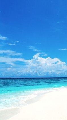 Beach, resort, vacation, sea, summer, sky,