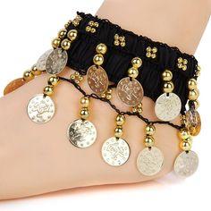 Bohemian GOLD Coins Anklet   SKU: 0108  $25.00