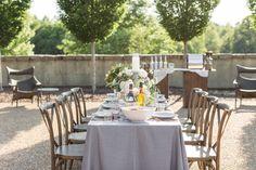 Wedding coffee bar & table set up! Photo by: Samantha Laffoon Photography