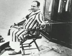 Al Capone Jan 6, 1939 after his release from Alcatraz.