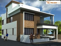 Beautiful duplex (2 floors) house.Click on this link (http://www.apnaghar.co.in/pre-design-house-plan-ag-page-63.aspx) to view free floor plans (naksha) and other specifications for this design. You may be asked to signup and login. Website: www.apnaghar.co.in, Toll-Free No.- 1800-102-9440, Email: support@apnaghar.co.in