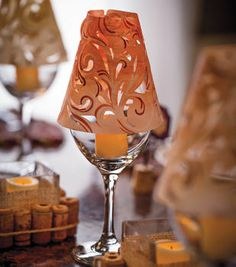 Wine Country Lamp Shades