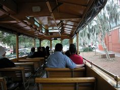 Old Savannah Tour Bus Ride - perfect for a girls date out! My Photography!