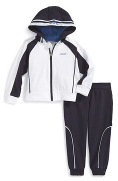 Armani Junior Track Jacket & Pants (Baby Boys) available at #Nordstrom