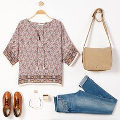 Cette blouse hippie chic va donner du style à nos tenues http://ptilien.fr/2AYg
