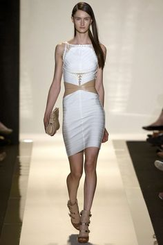 Hervé Léger by Max Azria Spring 2013 Ready-to-Wear Collection Slideshow on Style.com