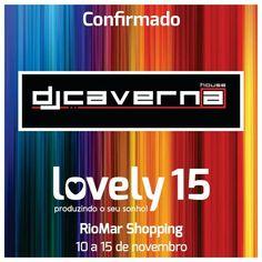 Mais uma confirmação de peso no Lovely15, Dj Caverna! Caverna lançará uma PlayList inédita para o Lovely15 no nosso site!  As inscrições continuam abertas para futuras debutantes e seus pais! Tudo no site www.lovely15.com.br  #lovely15 #teenbrasil #debutantes #15anos #meus15anos #sobre15anos #inesquecivel15anos #iluminação #debutante #festas #decoracao #bolos #vestidos #modateen #festas #projecoes #riomarshopping #riomar