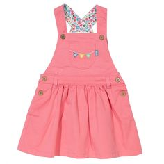 Kite Baby Girl Bunting Pinafore - - A great range of Kite Baby Girl Bunting Pinafore - FREE Delivery over Cute Little Girls Outfits, Toddler Girl Outfits, Baby Girl Dresses, Toddler Fashion, Baby Dress, Kids Outfits, Boy Fashion, Kids Clothes Sale, Baby Kids Clothes