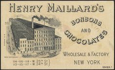 Maillard's Chocolate for eating and drinking - give us Maillard's Chocolate [back] by Boston Public Library, via Flickr