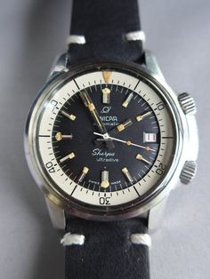 Enicar Sherpa ad: Enicar Sherpa Ultradive Compressor Ref. Austria Travel, Watches For Men, Men's Watches, Vintage Watches, Omega Watch, Tag Heuer, Elvis Presley, Clocks, Travelling